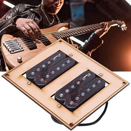 4 Dr?hte Dual Coil Magnetische Dual Rail Humbucker E-Gitarre Pickup