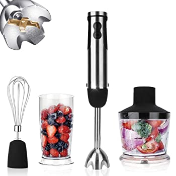 KOIOS HB-2050 4-in-1 Hand Immersion Blender