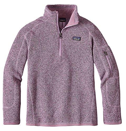 Patagonia Girls' Better Sweater Fleece Quarter Zip (XL, Dragon Purple) by Patagonia`