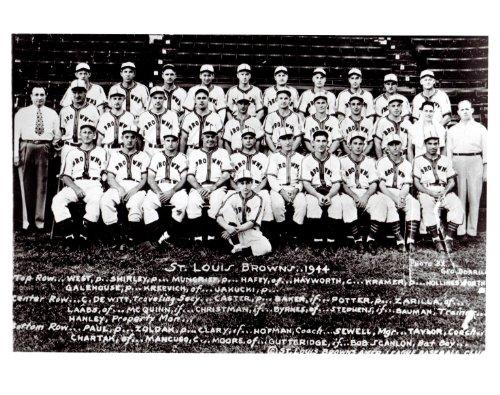 1944 Vintage St. Louis Browns 8x10 Team Photo - Mint Condition (Team Mint Photo)