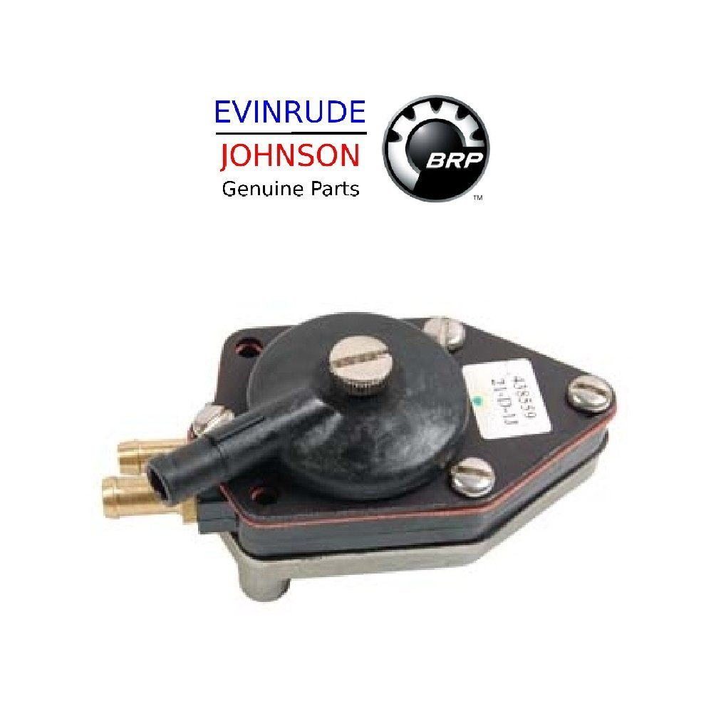 Amazon.com : Johnson Evinrude Outboard Engine Part# 438559 Genuine Factory  Replacement Fuel Pump BRP# 765591 : Sports & Outdoors