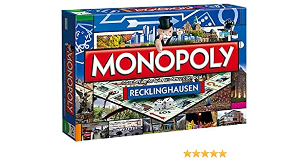 Winning Moves 44550 – Monopoly Reck lingh ausen Parte: Amazon.es: Juguetes y juegos