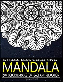 Relax Mandala Coloring Book Adult Art 45 Mandalas Coloring Pages For Peace and