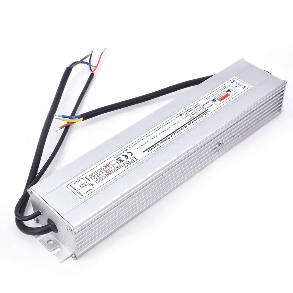 Fuente de alimentaci/ón LED Encendido 24V 100W 4.17A 50//60Hz IP67 a prueba de agua 24V 100W 4.17A Fuente de alimentaci/ón regulable Entrada LED AC170-260V