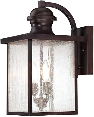 Savoy House 5-602-13 Newberry 17 H Exterior Wall Lantern, Black Finish