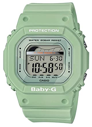 BABY-G Reloj Digital para Mujer de Cuarzo con Correa en Resina BLX-560-3ER: Amazon.es: Relojes