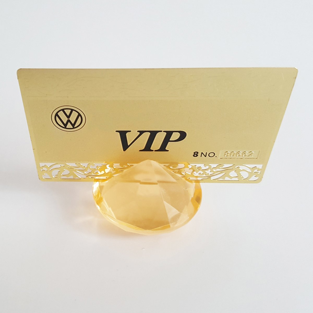 Aifans 12PCS Diamond segnaposto Holder Gold Greatplastic