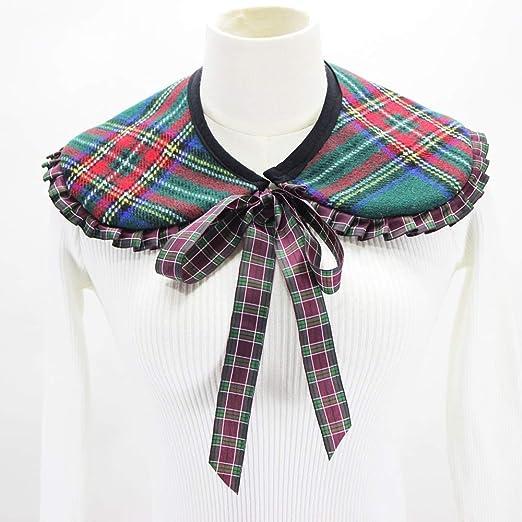 YAOSHI-Bow tie/tie Corbatas y Pajaritas para Cuello Falso de Tela ...