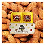 Daily Nuts ''Roasted Almonds'', Value Packs (32)/2 LBS, UN-SALTED USDA Extra No.1, Healthy Choice, NO ARTIFICIAL ADDITIVES, On the go, unsalted, Natural, Premium Nuts, On the Go, Multi Pack