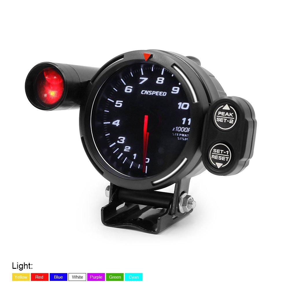 Tachometer Light Meter RPM Gauge High Speed Stepper Motor 7
