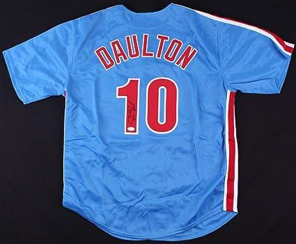 best service 944c0 bd071 Darren Daulton Autographed Signed Philadelphia Phillies ...