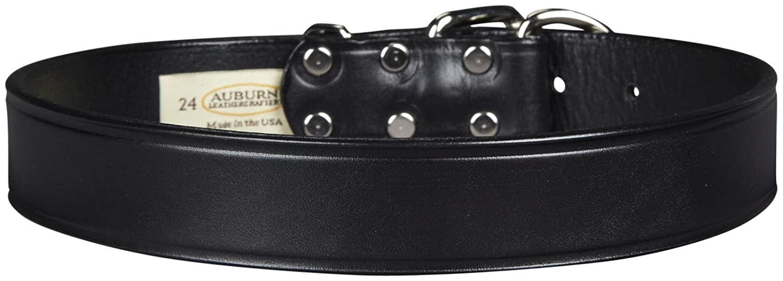 Auburn Tuff Stuff Collar Black 1-1 4 x 24 inches