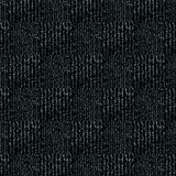 "24""x 24"" Carpet Tile Peel and Place - Crochet (Black) (60sq.ft.) 15 tiles"