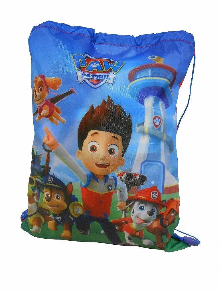 Paw Patrol Pump Bag Bags & Accessories Synthetic Material Kids Bags Blue/Multi