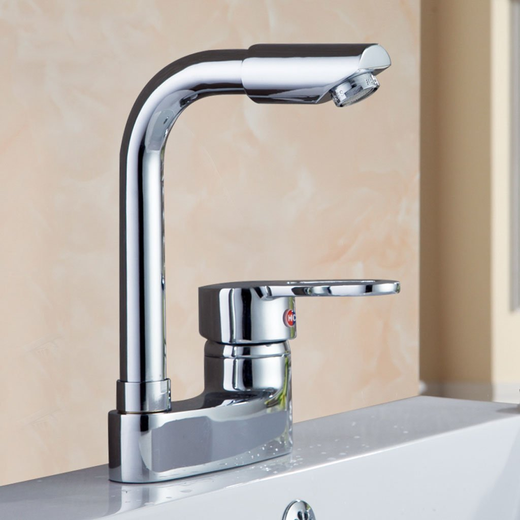 WYQLZ Home Modern Stylish Creative Bathroom Kitchen Hot And Cold redatable Faucet