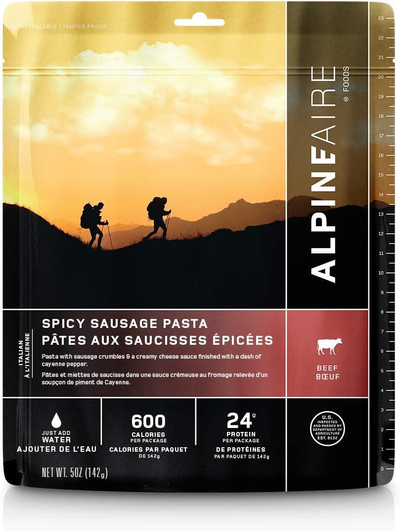 AlpineAire Spicy Pork Sausage Pasta
