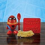 Marvel Comic Spiderman Egg Cup, Multi-Colour, 3-Piece