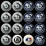 Seattle Mariners MLB Home vs. Away Billiard Balls Full Set (16 Ball Set) by Imperial International