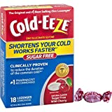 Cold-EEZE Cold Remedy Sugar Free Lozenges Wild Cherry 18 Count - The original and #1 best-selling zinc lozenges
