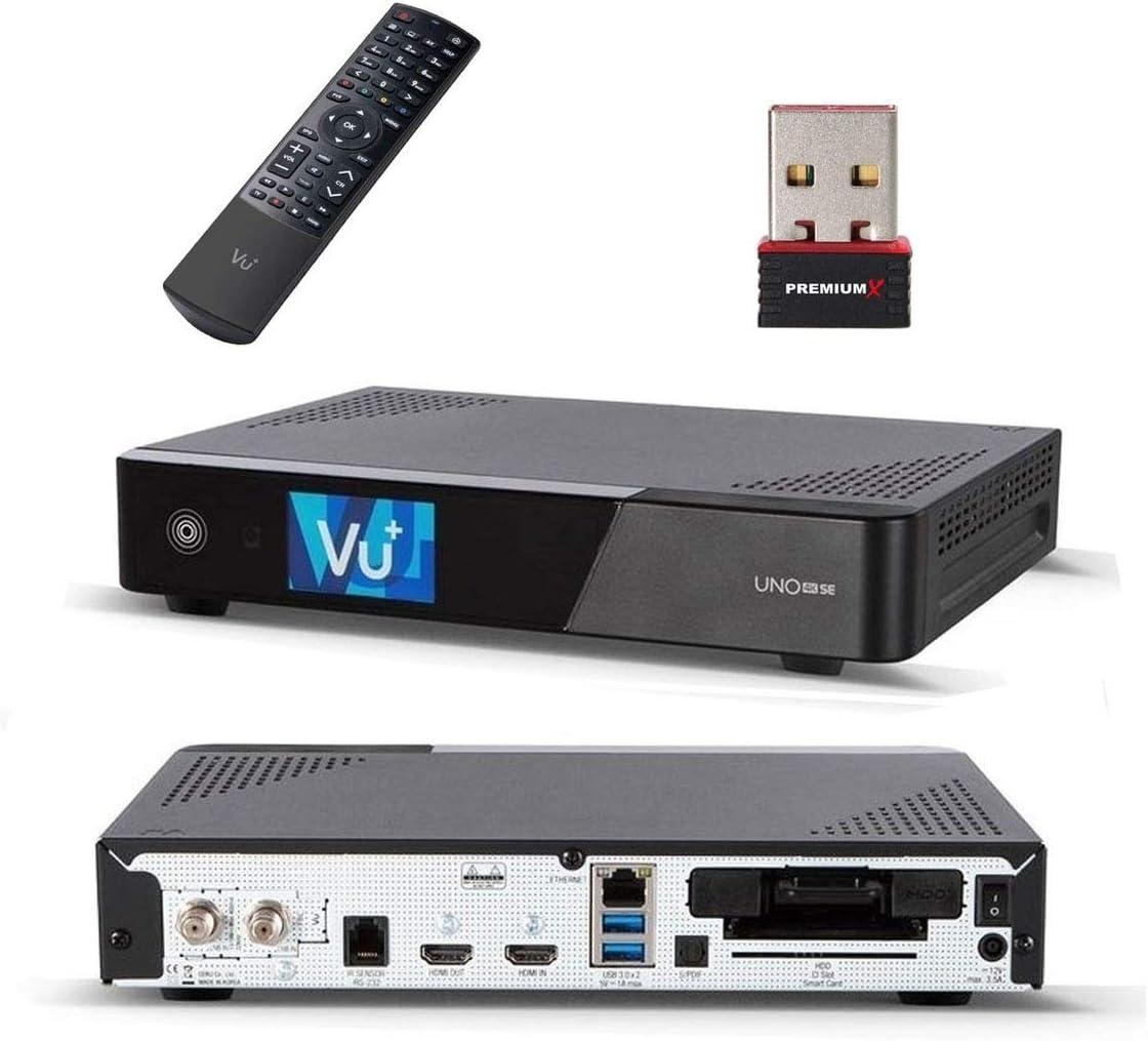 Vu Uno 4 K Se Digital Satellite Receiver Dvb S2 Linux Elektronik