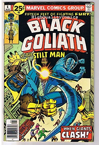 black-goliath-4-vg-fn-chris-claremont-superhero-1976-marvel