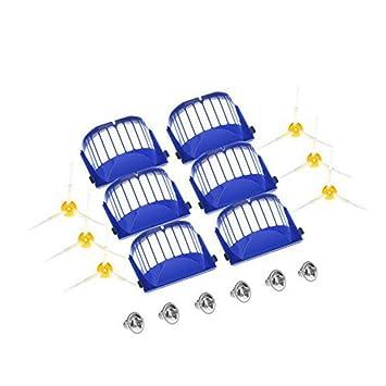 KingBra Aero Vac Filter & 3-Armado Cepillo Lateral & Algunos Tornillos Accesorios de Repuesto