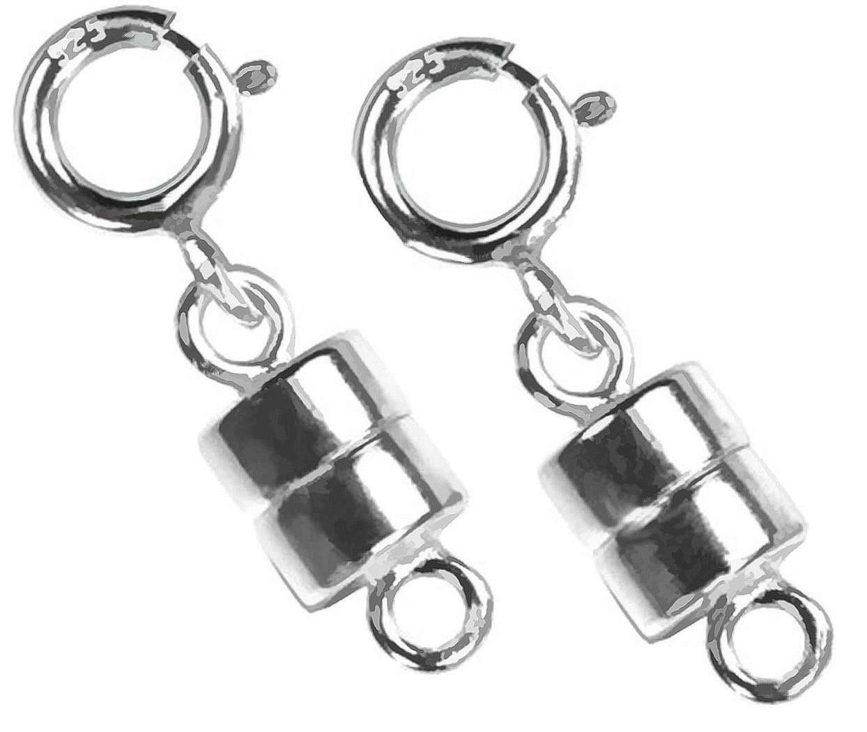 uGems 2 Sterling Silver Converters Magnetic Clasps by uGems