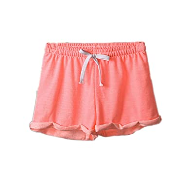 Brawdress Femmes Shorts de Sport Taille Élastique Avec Cordon de Serrage 003112e2f35