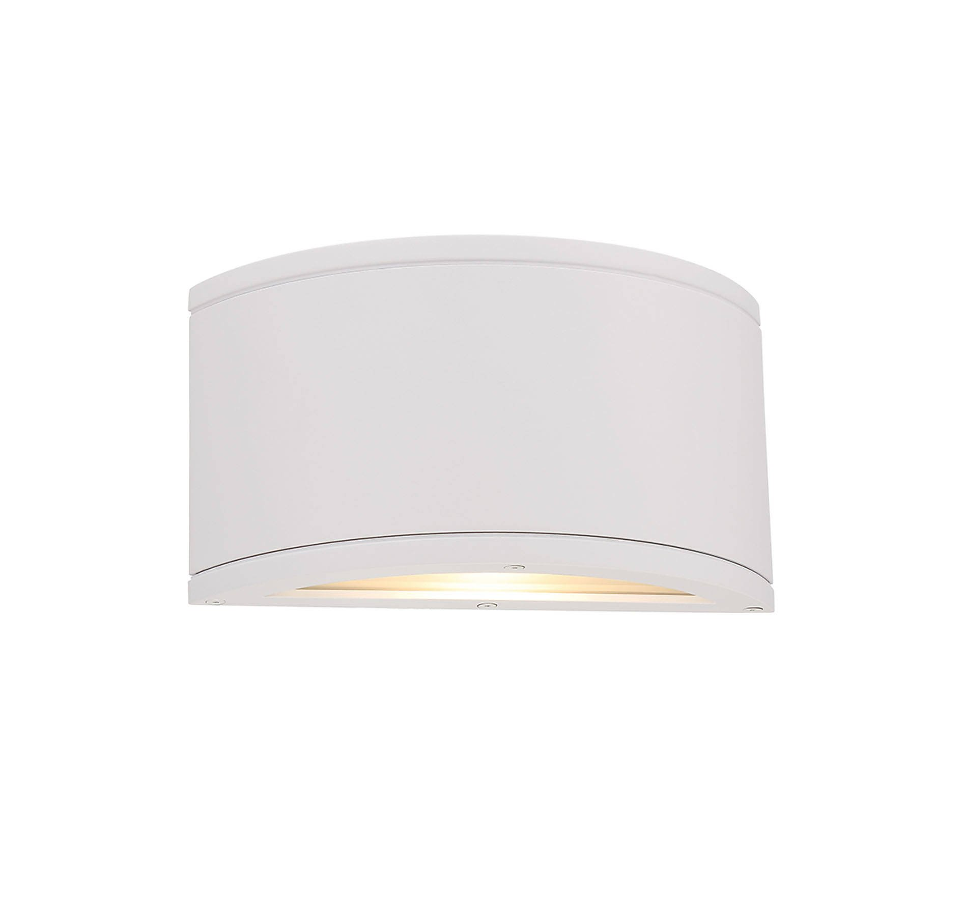 WAC Lighting WS-W2610-WT Tube LED Outdoor Half Cylinder Up and Down Wall Light Fixture, One Size, White