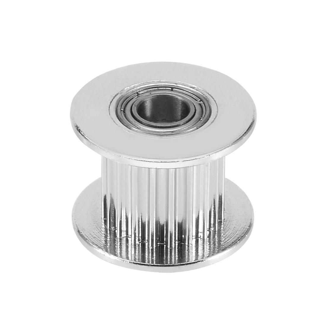 sourcingmap® Poulie renvoi d'aluminium GT2 16T pour 6mm large courroie distribution 3mm pour alésage imprimante 3D sourcing map a17041300ux0112