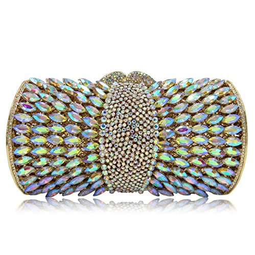 Luxury Banquet pour NBWE main Diamond Evening sac à Bag Clutch Glitter sac Colorful fête de à de Femmes mariage main la les Crystal clubs ZnxPxrX