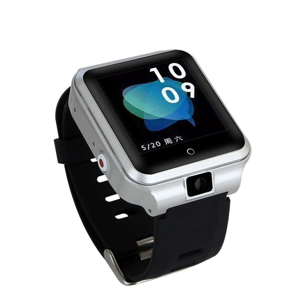Amazon.com: M13 smart watch Android 6.0 RAM 1GB ROM 8GB support 4G SIM Heart Rate WIFI GPS smartwatch IP67 Waterproof Blood pressure sport watch (black): ...
