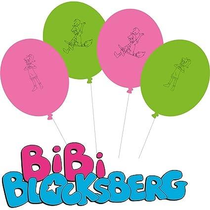 8 Globos * Bibi Blocks Montaña * para Fiesta de cumpleaños y ...