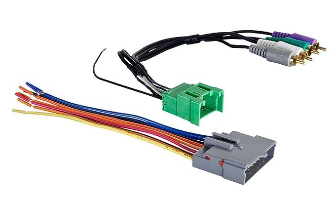 Amazon.com: Metra 70-5603 Amplifier Integration Harness for Select on metra radio harness, metra bnsf, wiring harness, metra wiring diagram, metra map, metra logo, metra engine, metra dash kits, metra radio harnesses,