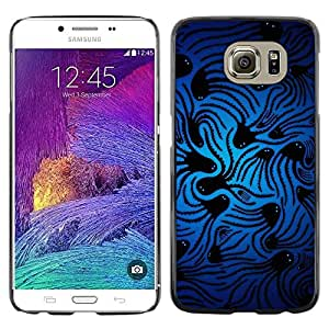 LECELL -- Funda protectora / Cubierta / Piel For Samsung Galaxy S6 SM-G920 -- Space Squid --