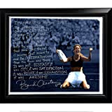 World Cup Soccer United States Framed 22x26 Brandi Chastain Facsimile 'World Cup Game Winning Penalty Kick' Story Stretched Canvas