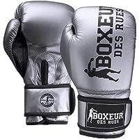 BOXEUR DES RUES Serie Fight Activewear, Guantoni in Pelle Sintetica Cangiante Donna