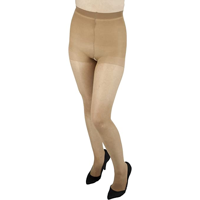 11b52be97ae3f L'eggs Sheer Energy Pantyhose - Control Top - Sheer Toe (Size Q+, Suntan):  Amazon.ca: Clothing & Accessories