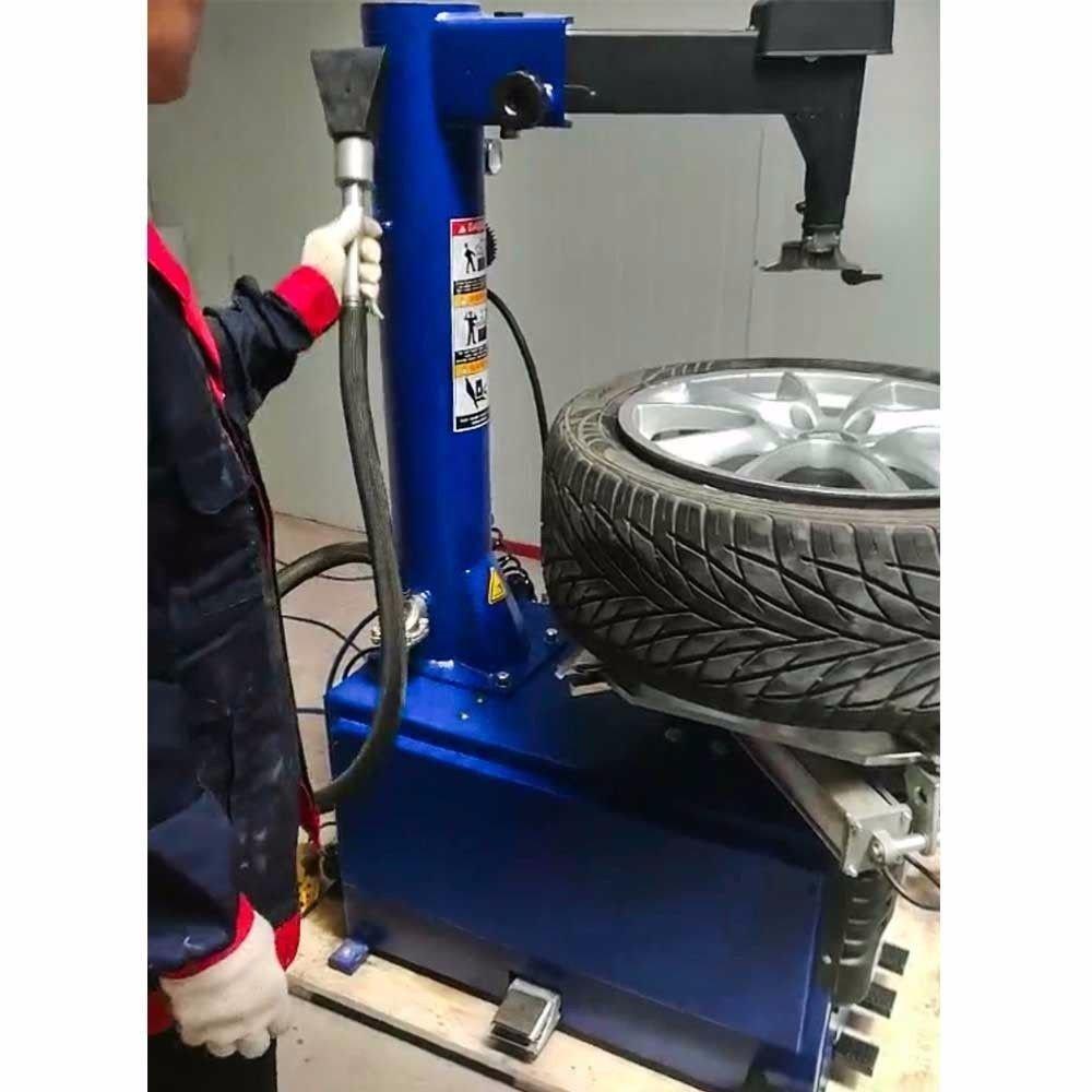 1,5 HP automaticw Tire cambiador de máquina neumático rueda ...