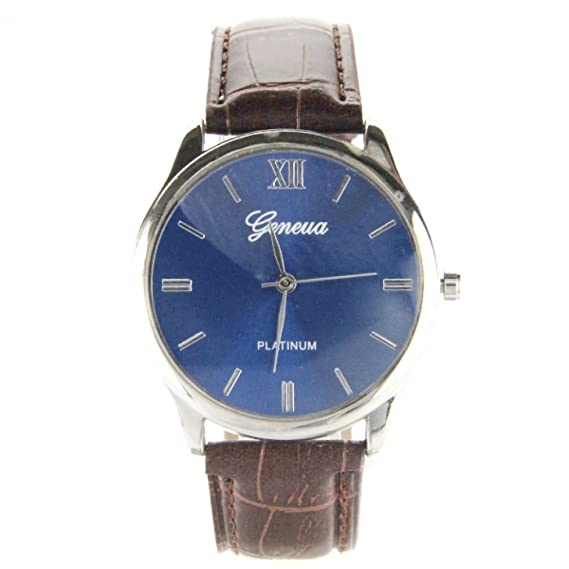 Geneva esRelojes Calidad Hombre Reloj MontreAmazon My XuPkOZi