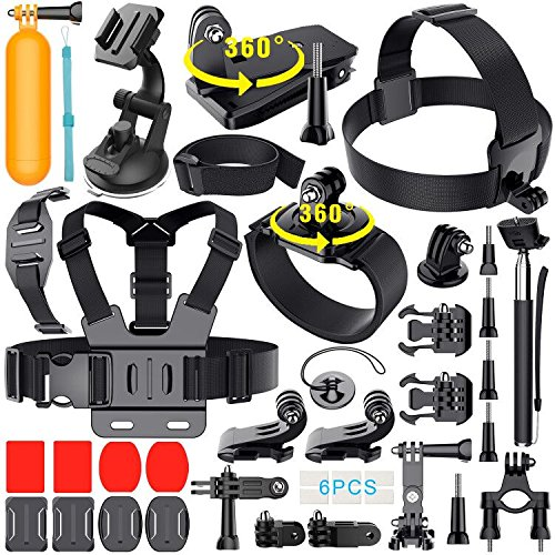 Erligpowht Ultimate - Kit de accesorios para videocámaras GoPro Hero: Amazon.es: Electrónica