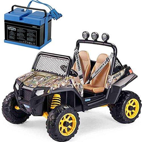 Peg-Perego-Polaris-RZR-900-With-12-Volt-Battery-Charger-Camo