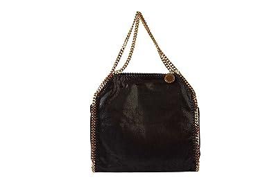 Stella Mccartney women s shoulder bag original falabella black ... d0dbb98289800