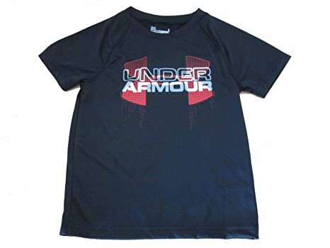 911c374ab886 Under Armour Kids Boy s Big Logo Hybrid Short Sleeve (Little Kids Big Kids)
