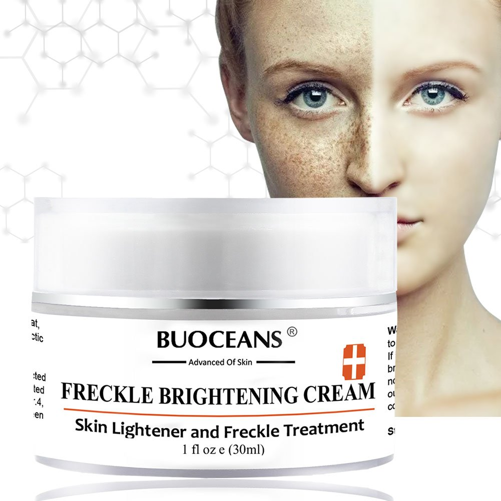 PINPOXE Skin Brightening, Freckle, Dark Spot Corrector Face & Melasma Treatment Fade Cream, Removes Hyperpigmentation Reduces Melasma, 1, Yellow,Orange by PINPOXE