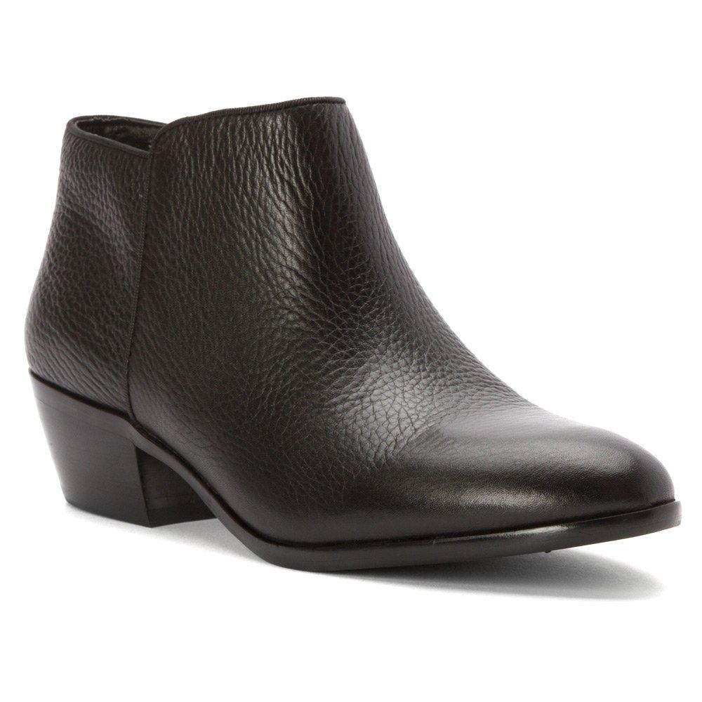 Black New Tumbled Leather Sam Edelman Women's Petty Boot