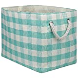 DII Collapsible Woven Paper Laundry Hamper and