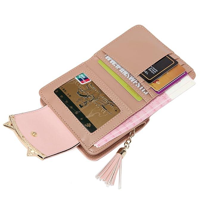 Amazon.com: heysun Mujer adorable pequeño cartera ...