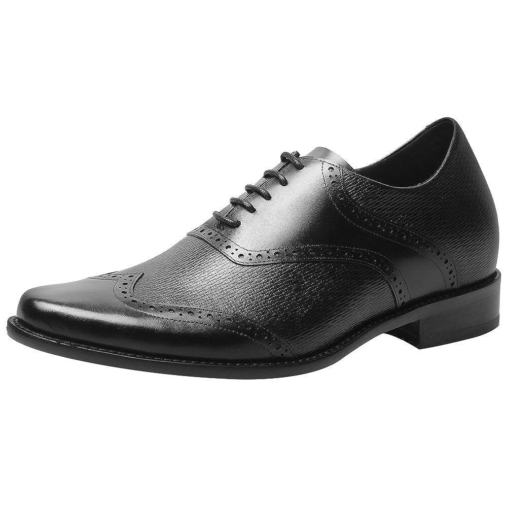 CHAMARIPA Aufzug Männer Höhe Erhöhen Leder Oxford Oxford Oxford Schuhe Business Arbeit Büro Hochzeit Schnürschuhe Unsichtbare Herren B079BN4MQW  fbed1c