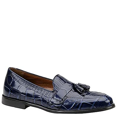 aa92c849d4 STACY ADAMS Men s Sabola Tassel Slip-On 7 D(M) US Blue-